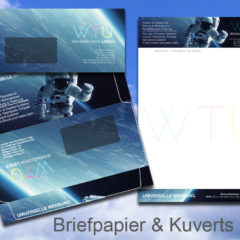 Briefpapier-Kuverts