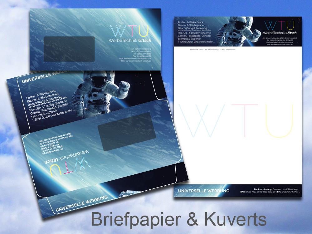 Briefpapier-Kuverts